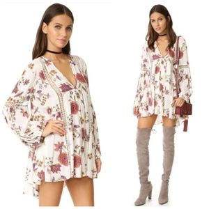 Free People Just the Two of Us Tunic Dress XS